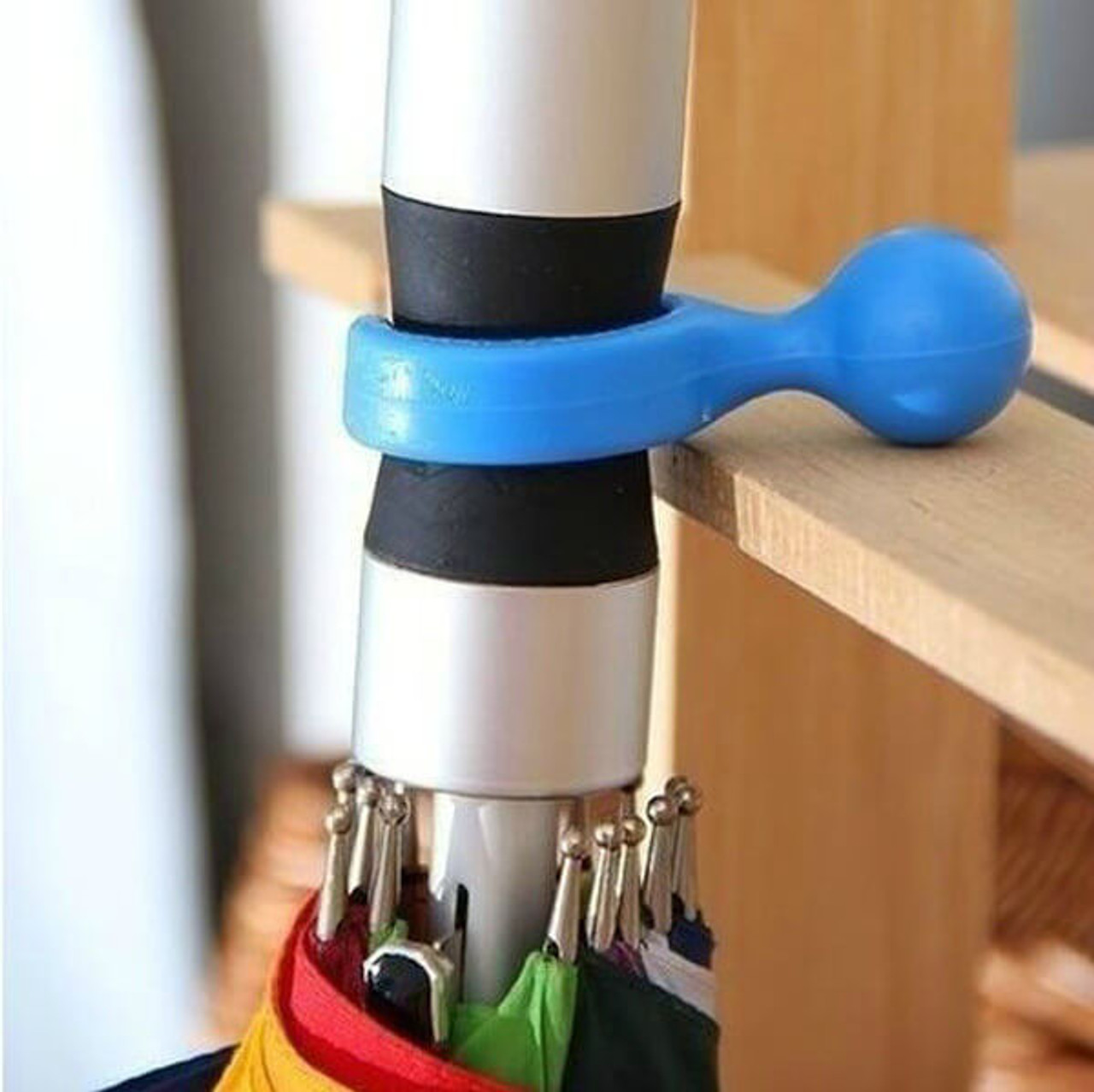 UMBRELLA HANGER COMES IN VARIOUS COLORS
