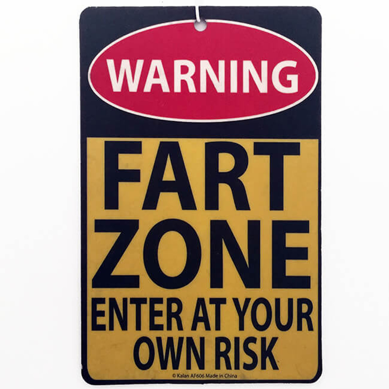 FART ZONE AIR FRESHENER