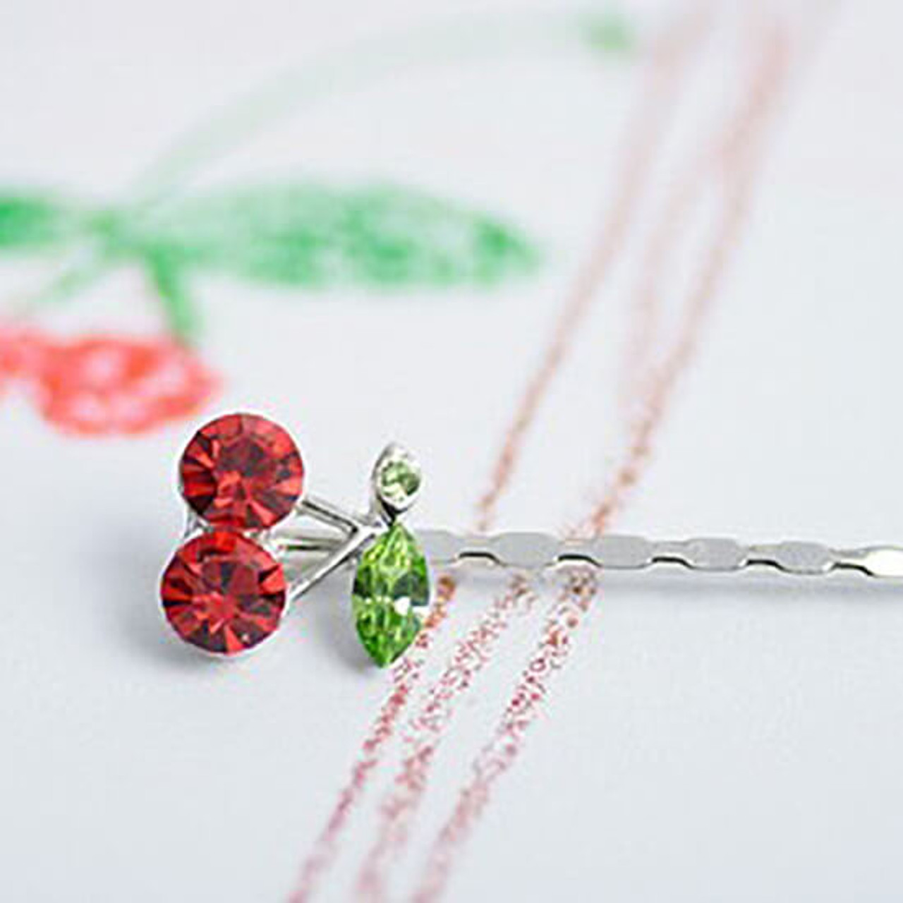 Cherry On Top Hairpins