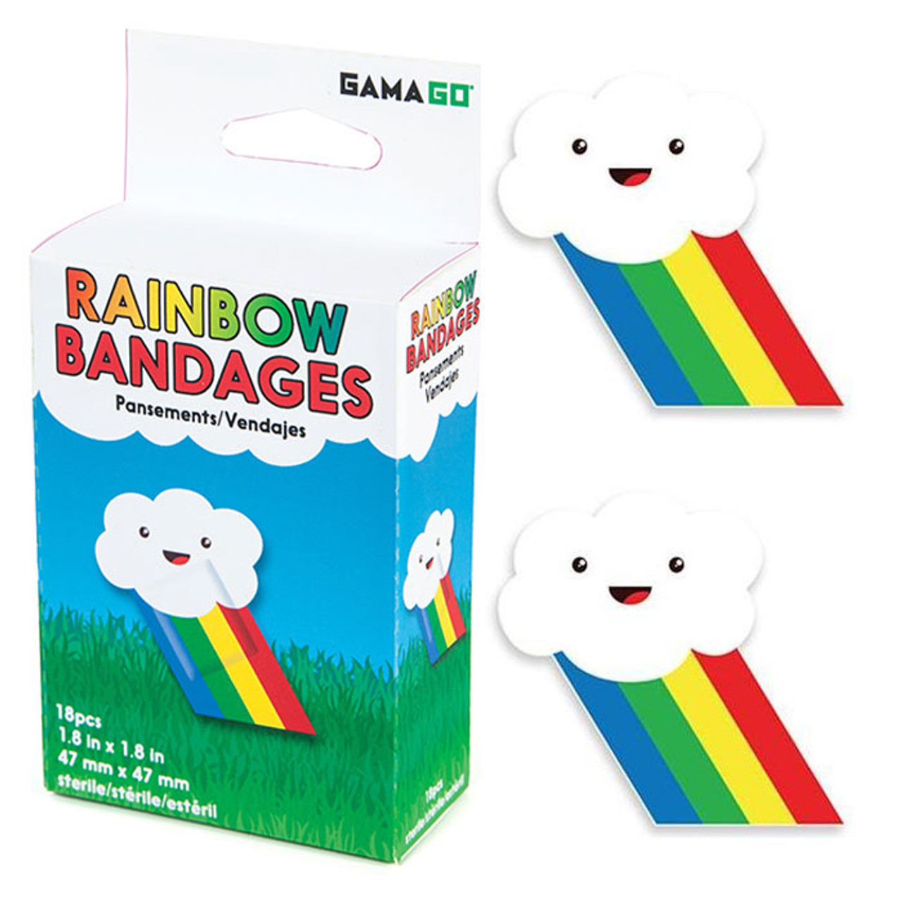 Kawaii Rainbow Bandages