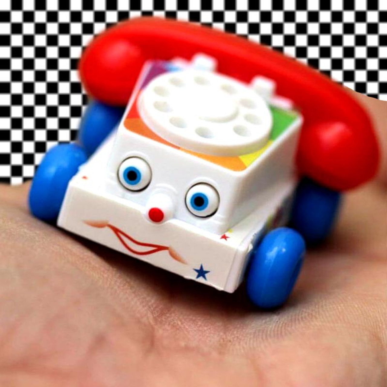 World's Smallest Fisher-Price Chatter Phone Stocking Stuffer