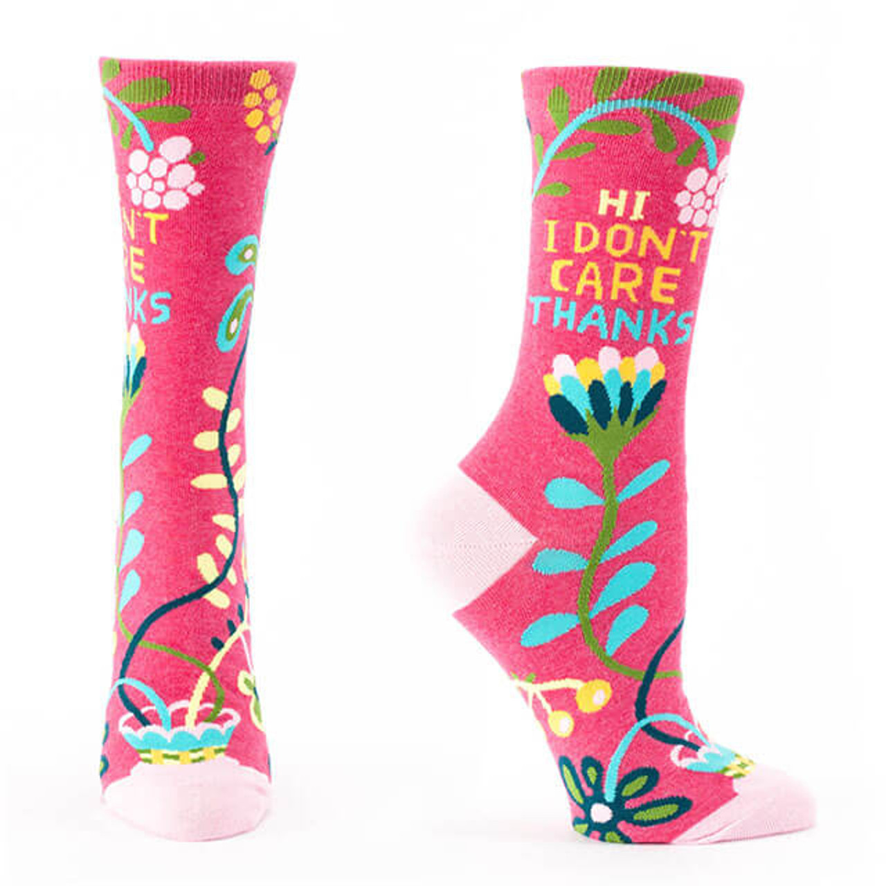 Women/'s Crew It/'s A Beautiful Day Soft Combed Cotton Socks Don/'t F*ck It Up