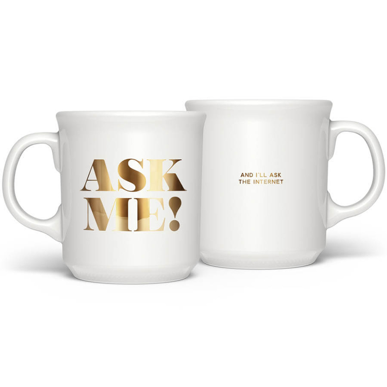 Ask Me And I'll Ask The Internet Mug