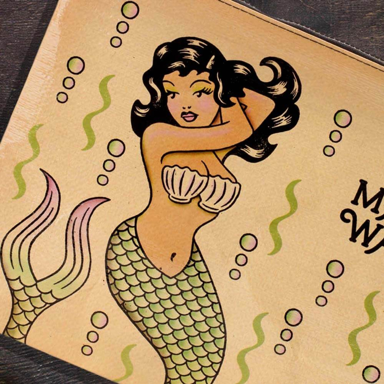 Makin' Waves Mermaid Jumbo Pouch