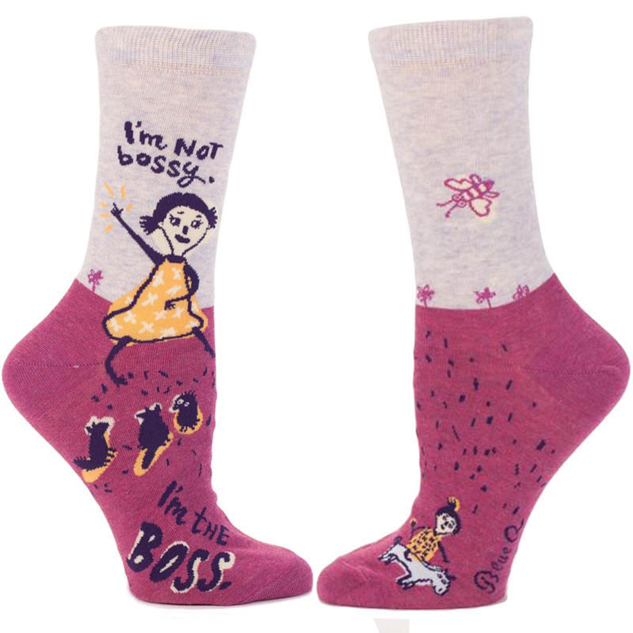 7e4726269dff4 I'm Not Bossy. I'm the Boss. Socks and more Unique Gifts