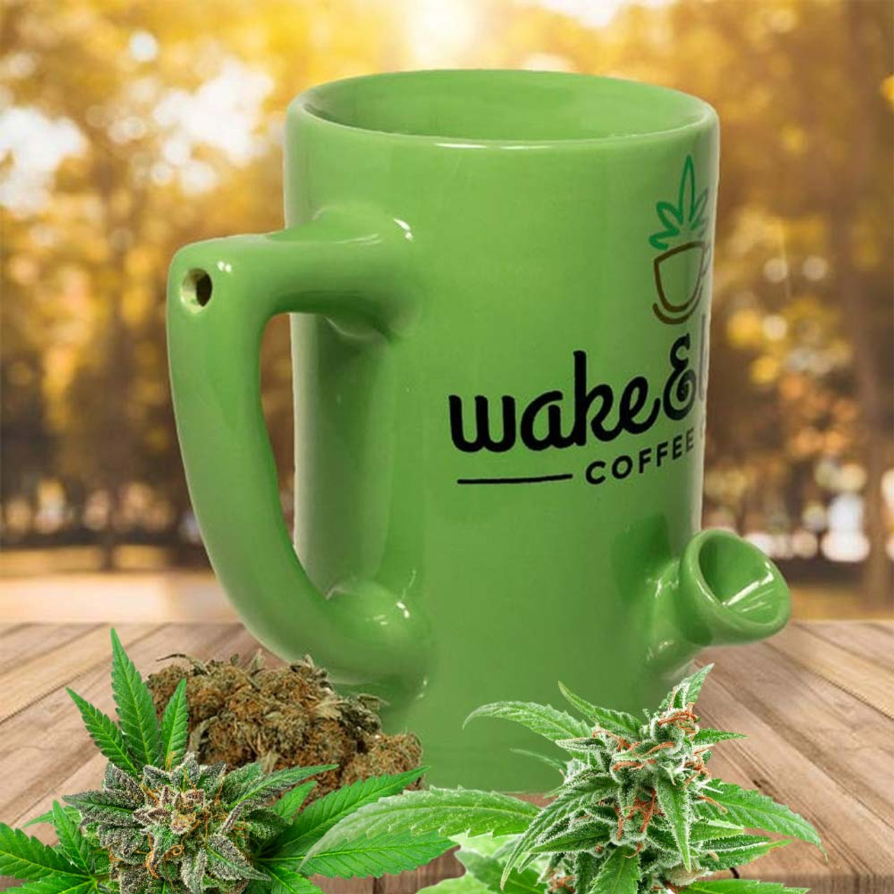 Original Wake and Bake Mug
