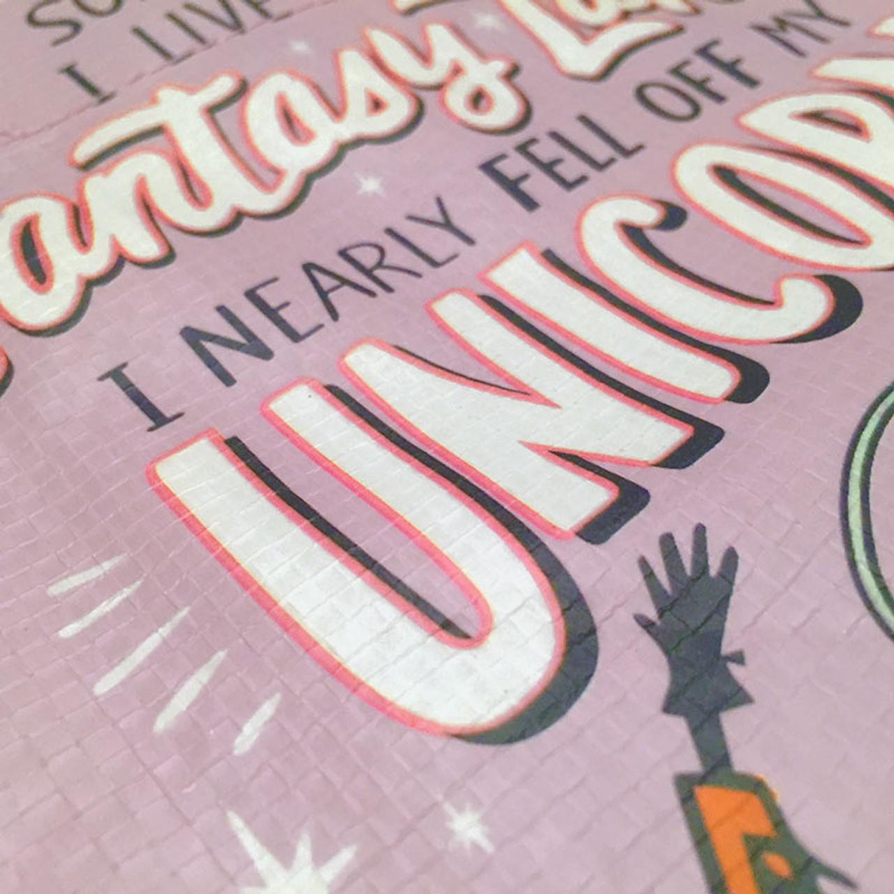 I Nearly Fell Off My Unicorn Fantasy Land Tote Bag