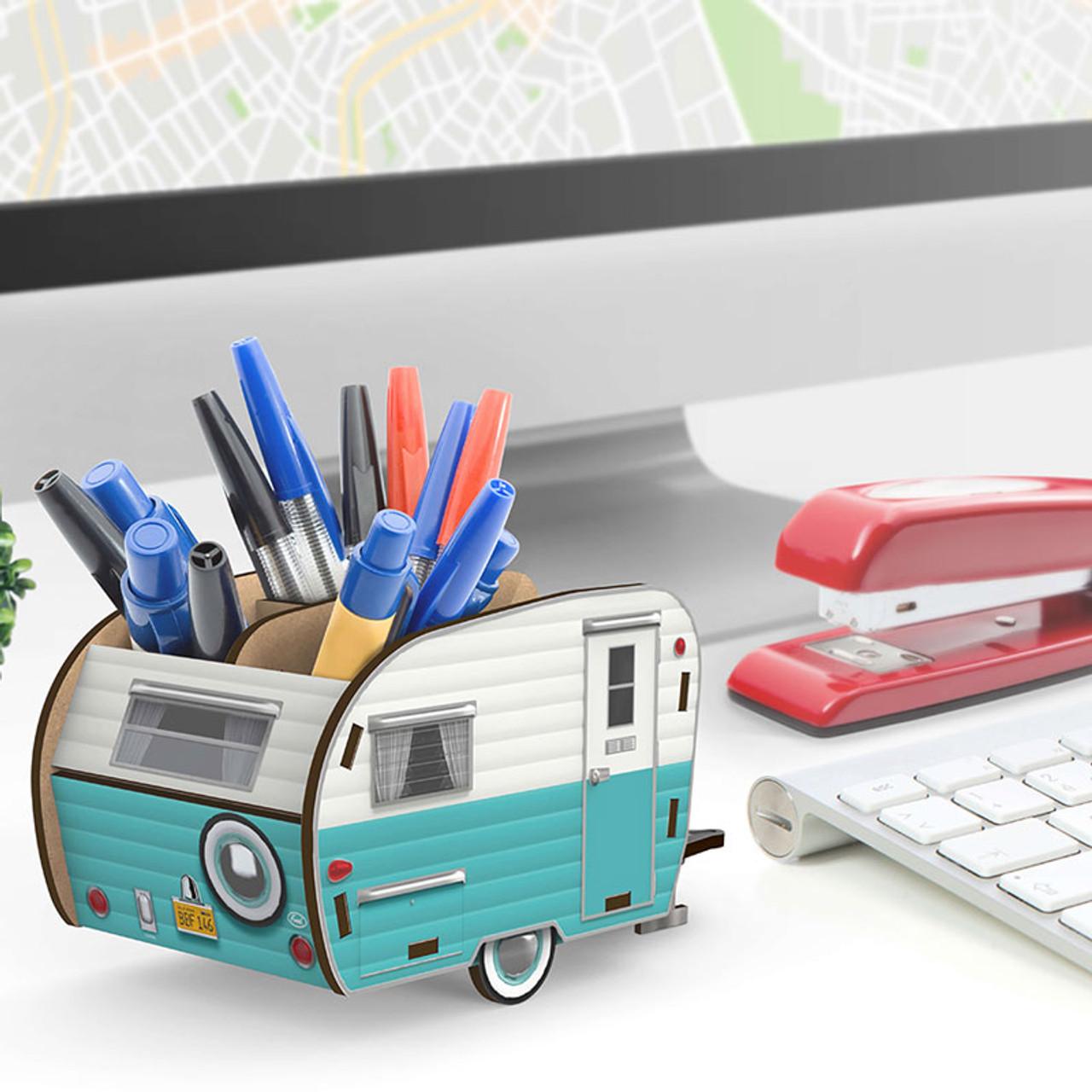 Retro Desk Pencil Holder