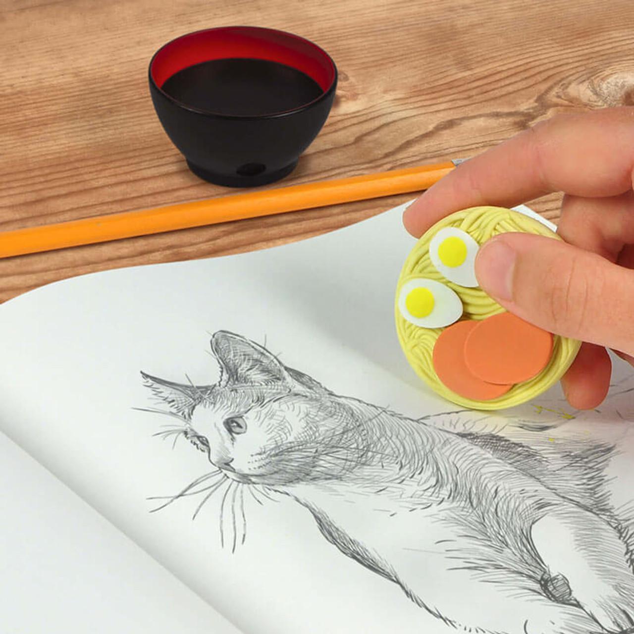 Ramen Doodles Eraser + Sharpener Set