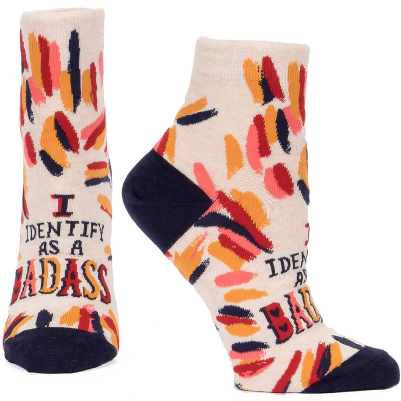 I Identify As A BadAss Women's Ankle Socks