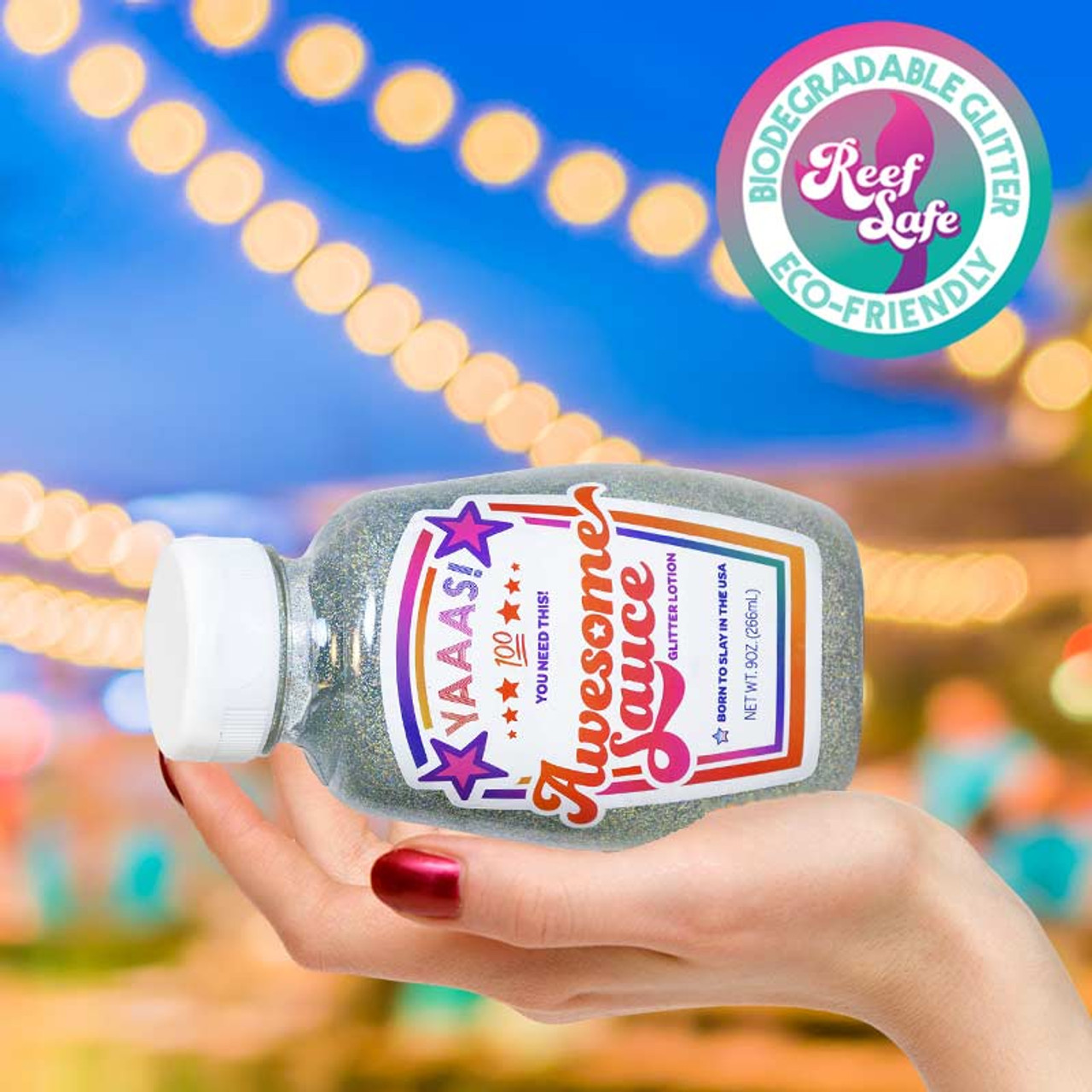 Awesome Sauce Holographic Glitter Body Lotion