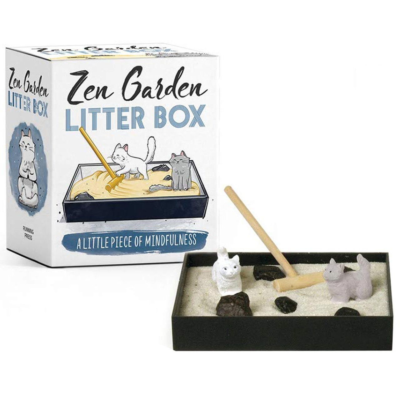 Zen Garden Litter Box Gift For Cat Ladies