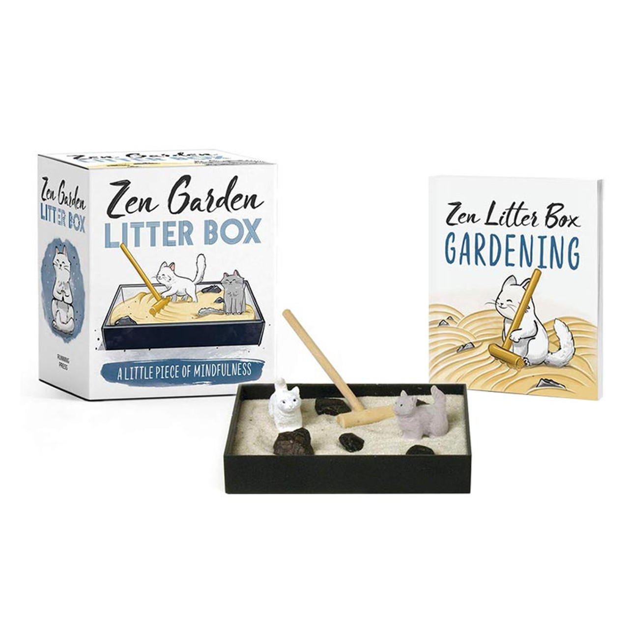 Zen Garden Cat Litter Box