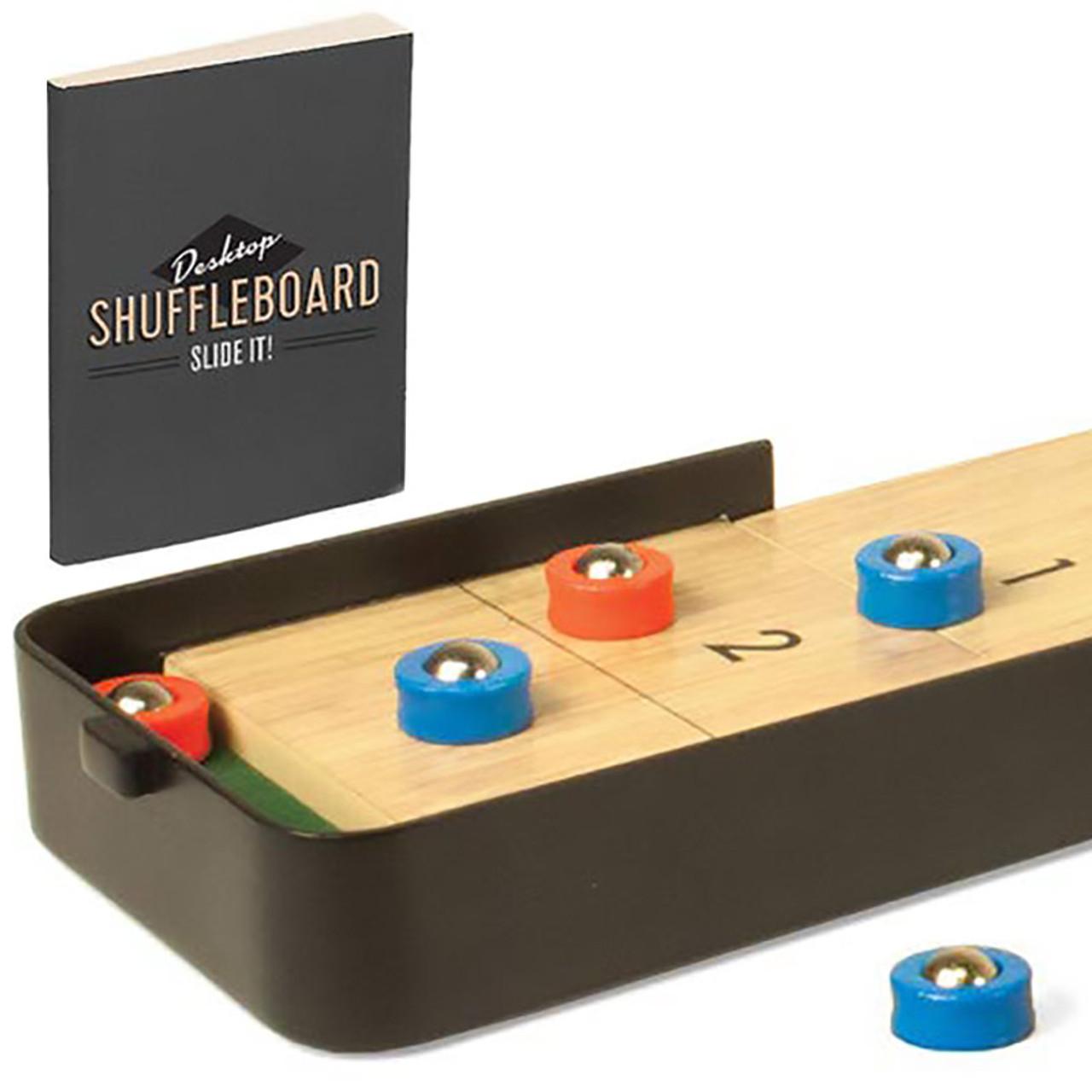 Desktop Shuffleboard Game
