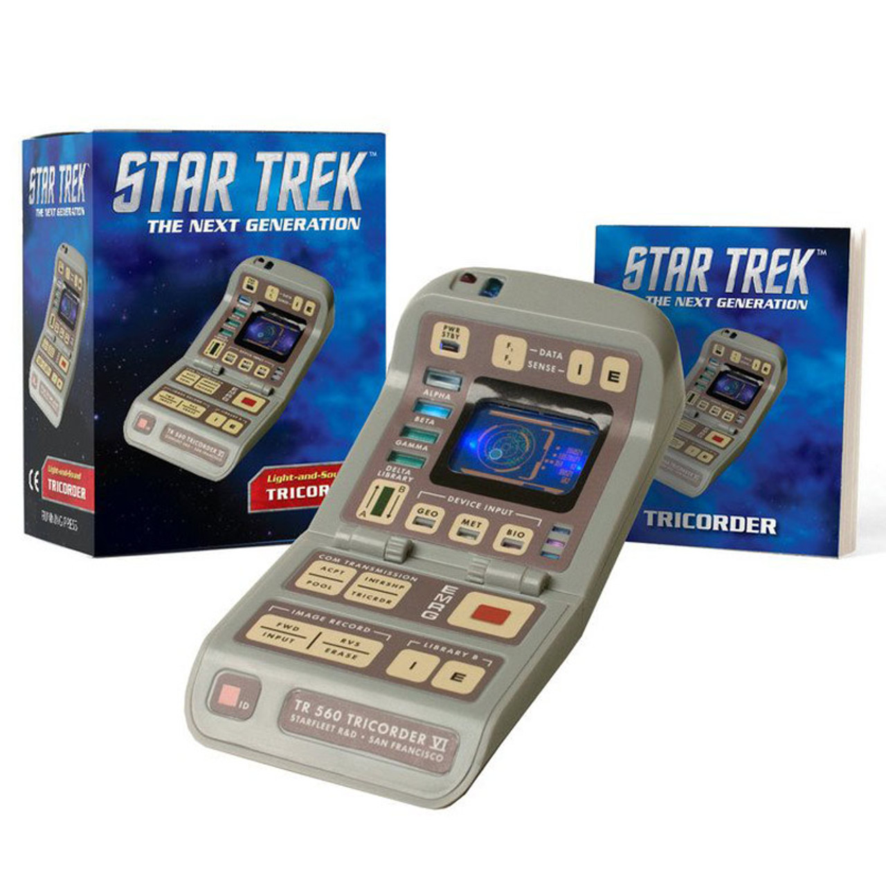 Star Trek Light-and-Sound Tricorder Set