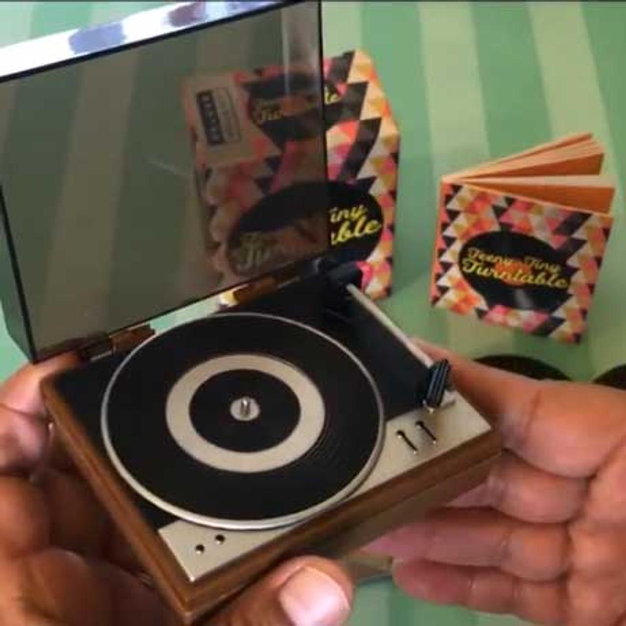 Teeny-Tiny Record Turntable