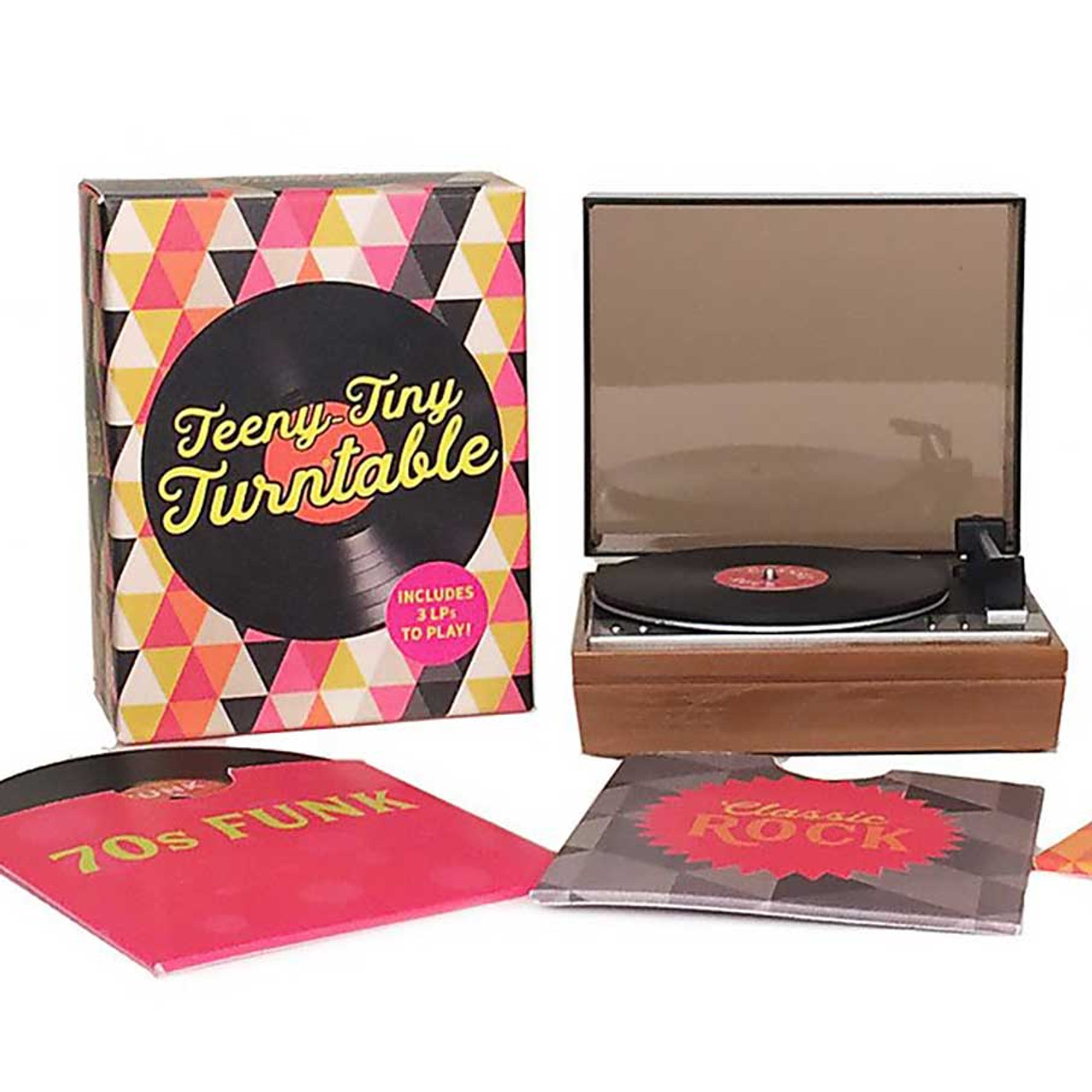 Teeny-Tiny Record Turntable | Fun Music Toys at Perpetual Kid