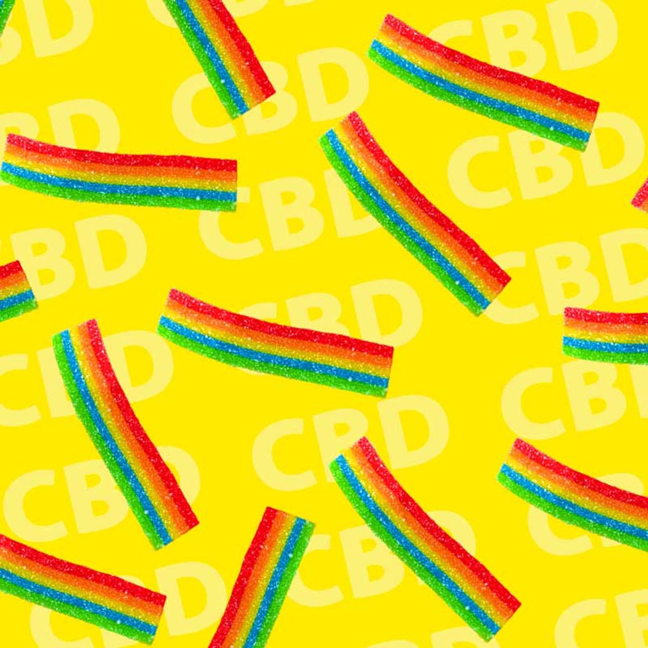 CBD Gummi Candy Ribbons Purchase