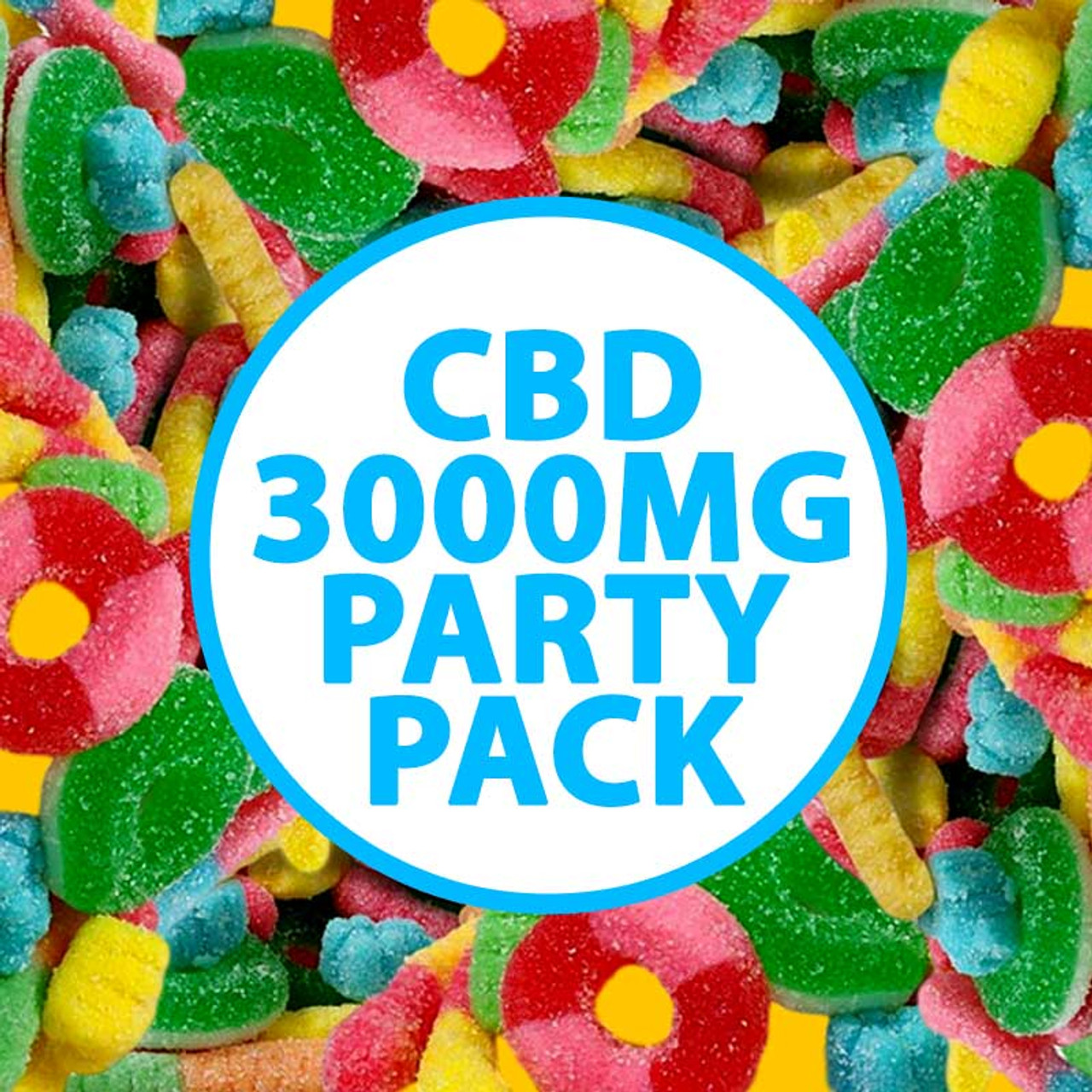 CBD Party Pack Cannabidiol 3000MG