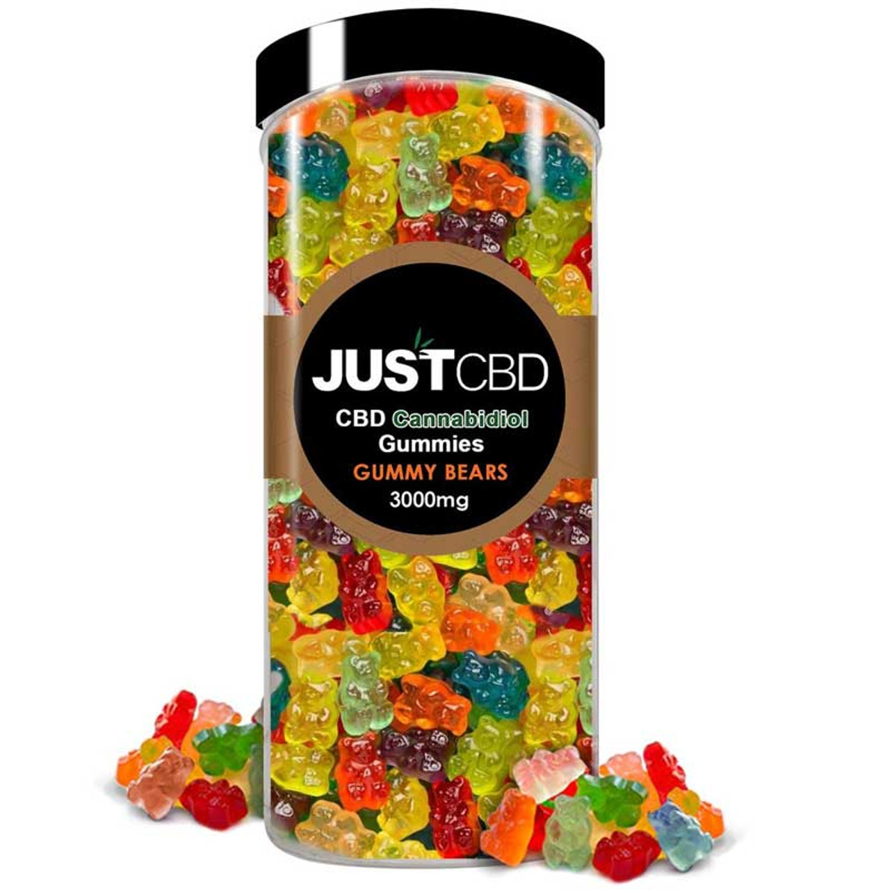 CBD Gummy Bear Party Pack by JustCBD   3000 MG