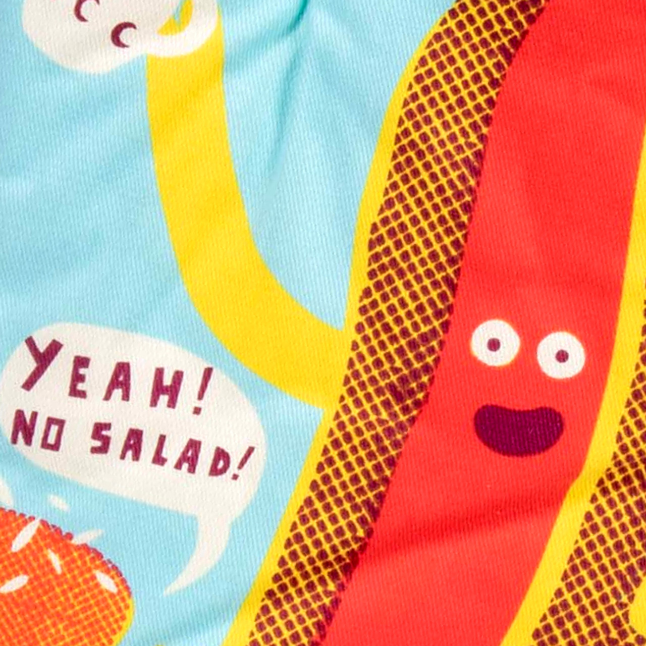 Say No To Salad Oven Mitt - Come and get it!