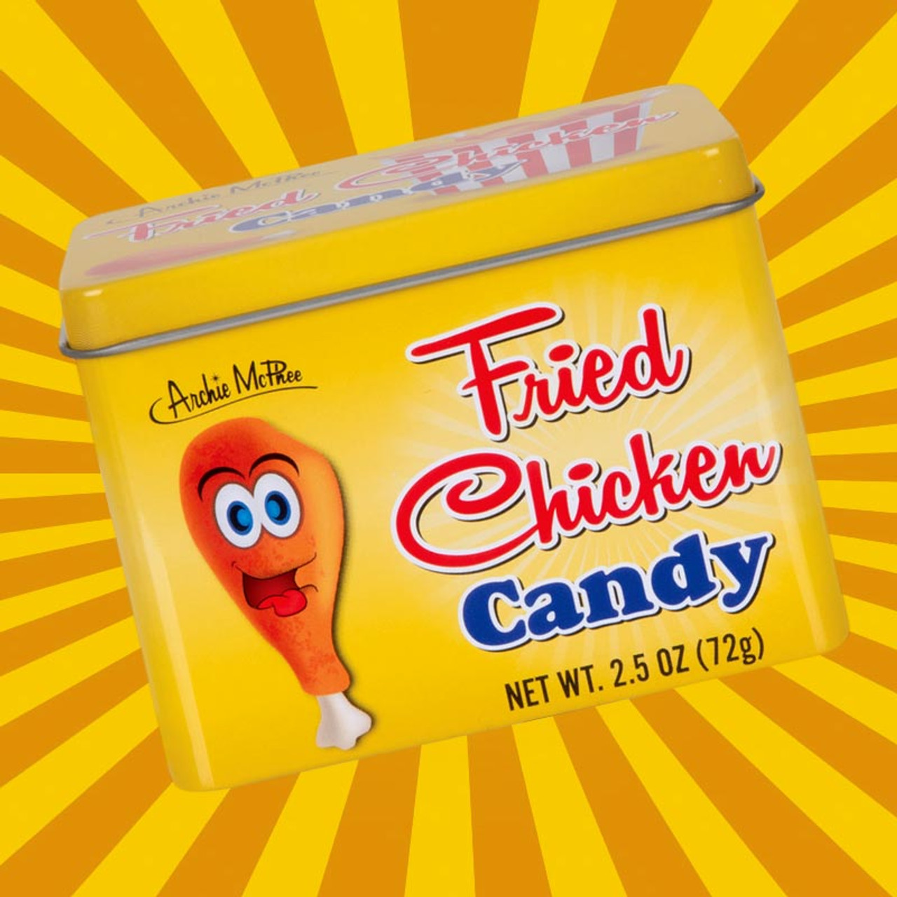 Tasters like chicken... Fried Chicken Candy