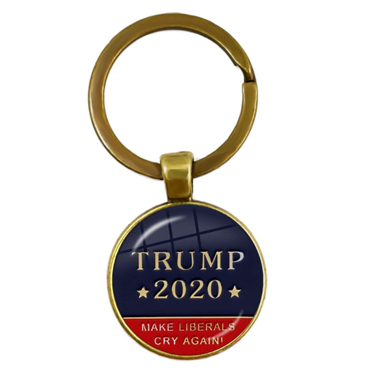 Trump 2020 Keychain Make Liberals Cry Again