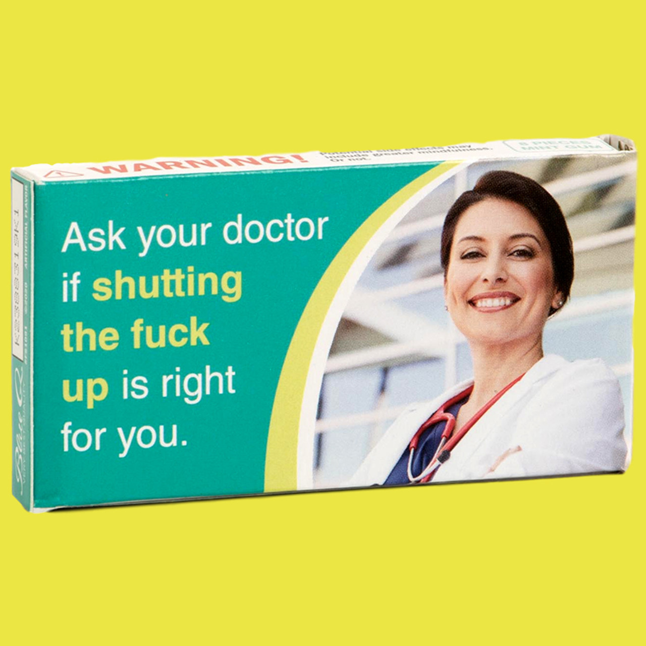 Purchase Blue Q Ask Your Doctor Gum