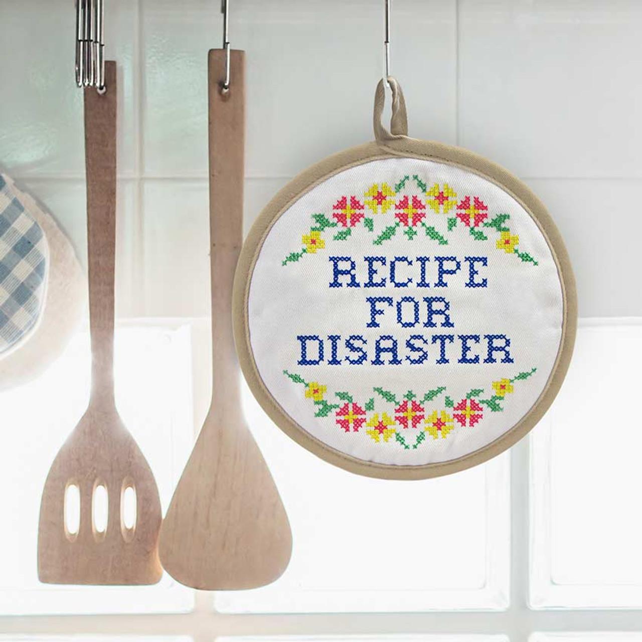 Purchase IRecipe For Disaster Potholder Hostess Gift