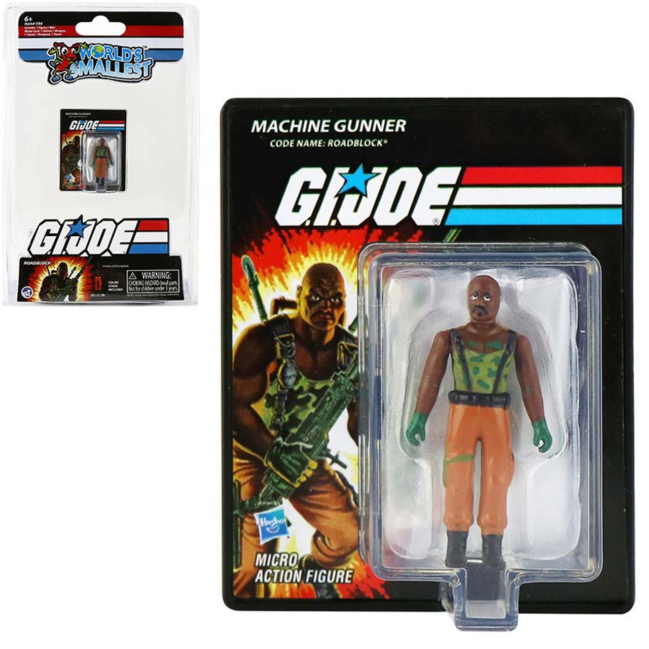World's Smallest GI Joe Roadblock