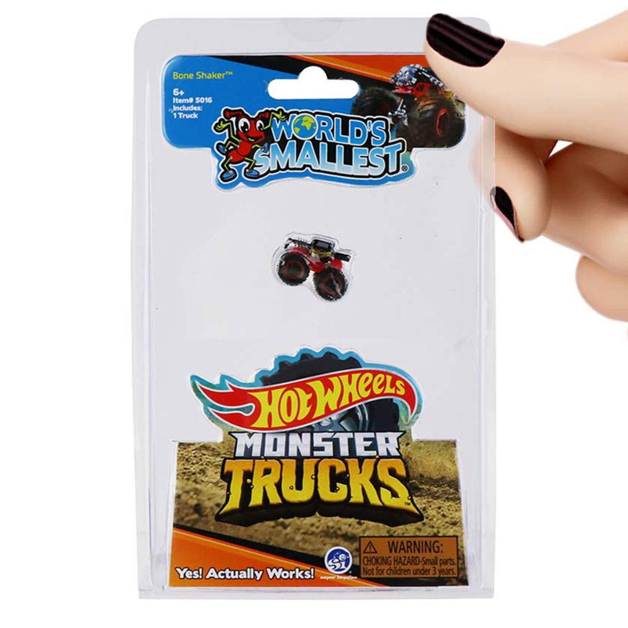 World's Smallest Hot Wheels Monster Trucks