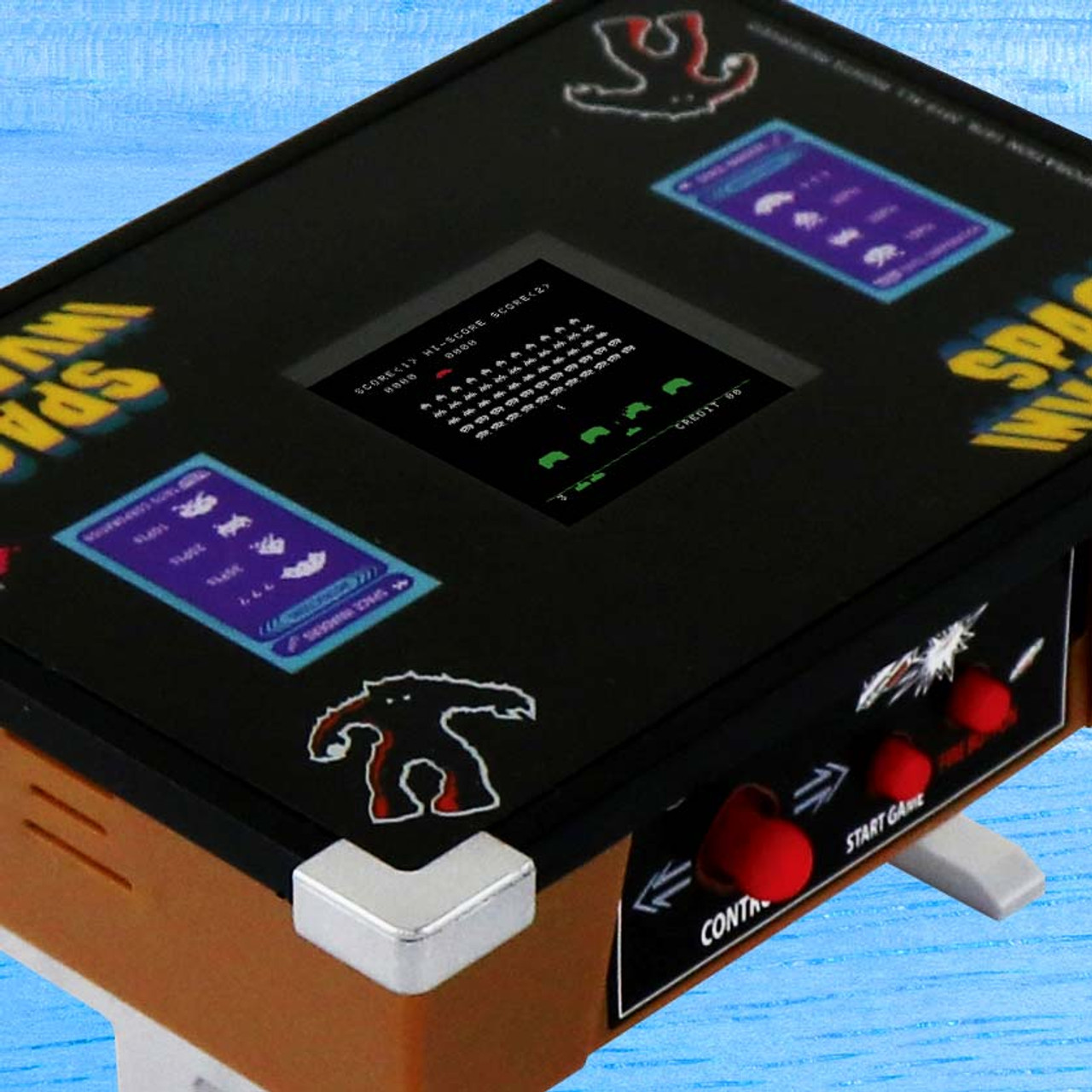 Space Invaders Tiny Arcade Tabletop Edition