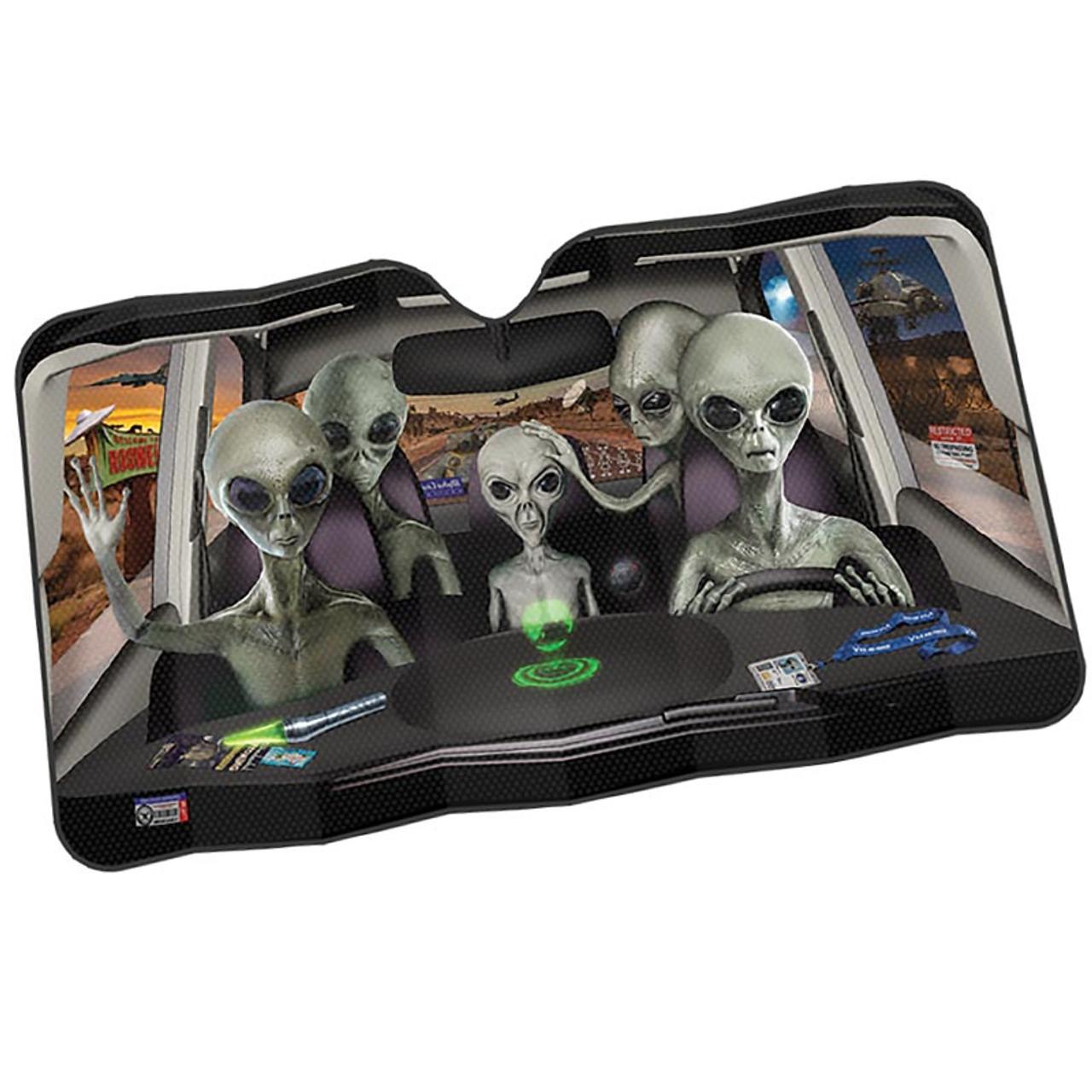 Area 51 Aliens Auto Sunshade