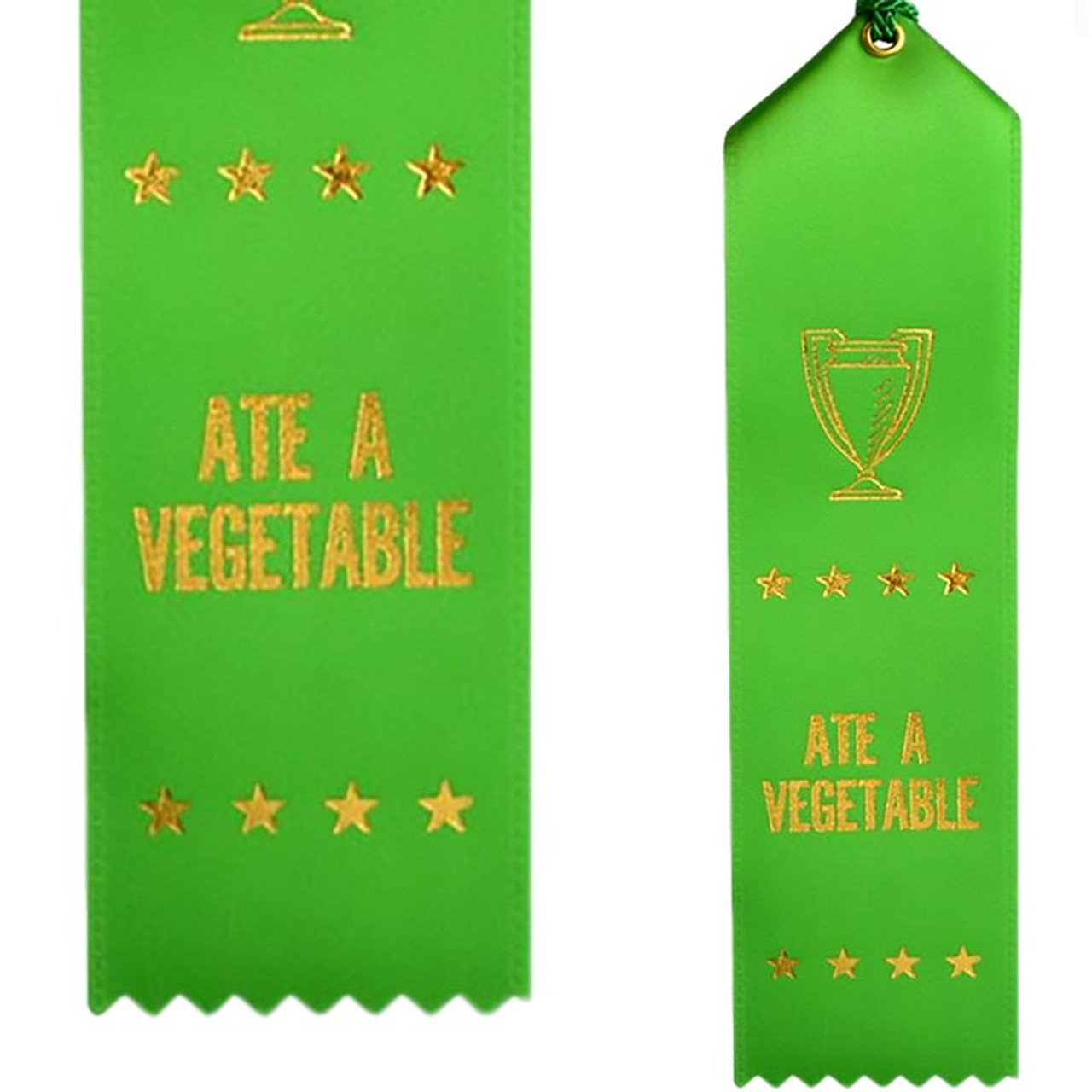 Ate A Vegetable Ribbon