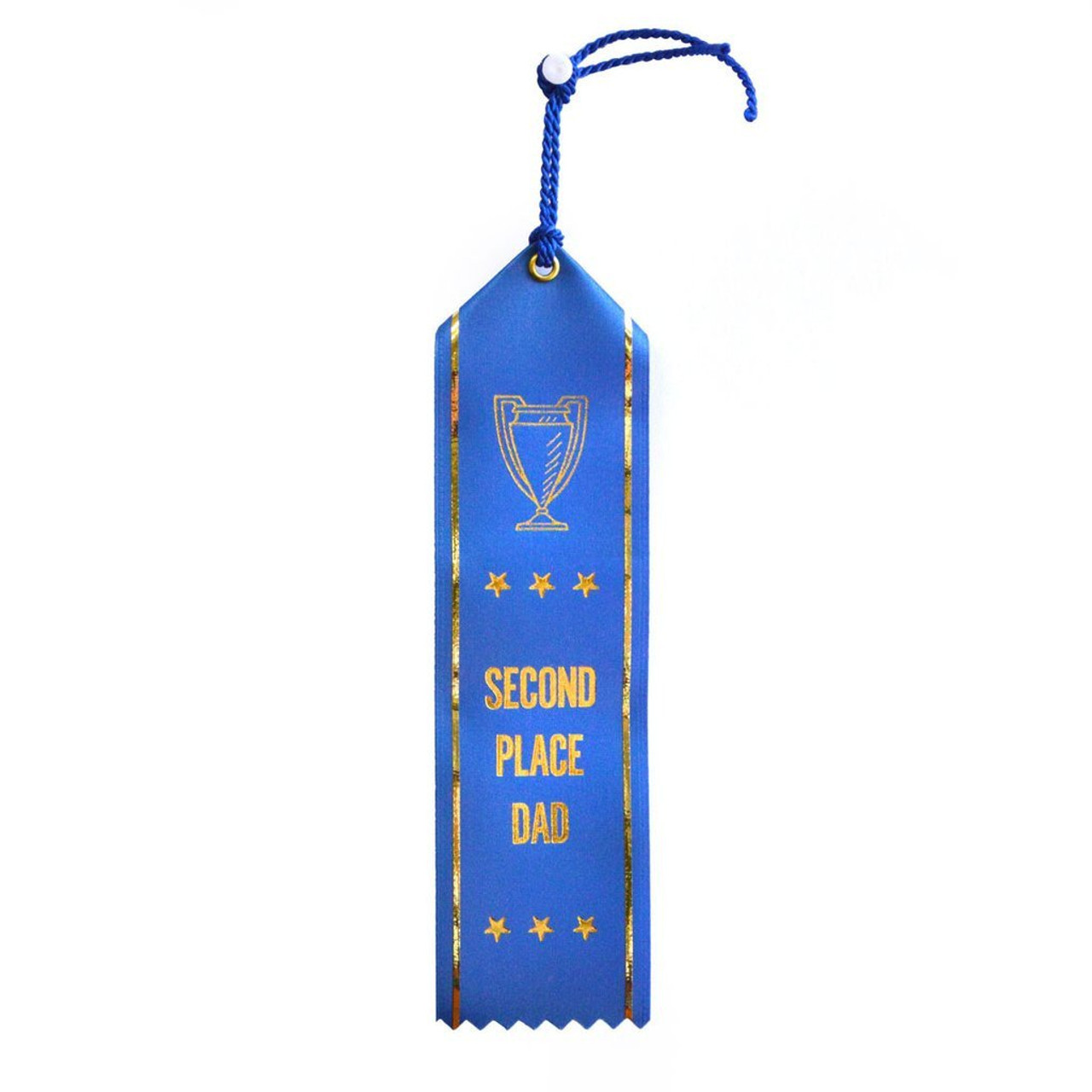 Second Place Dad Ribbon