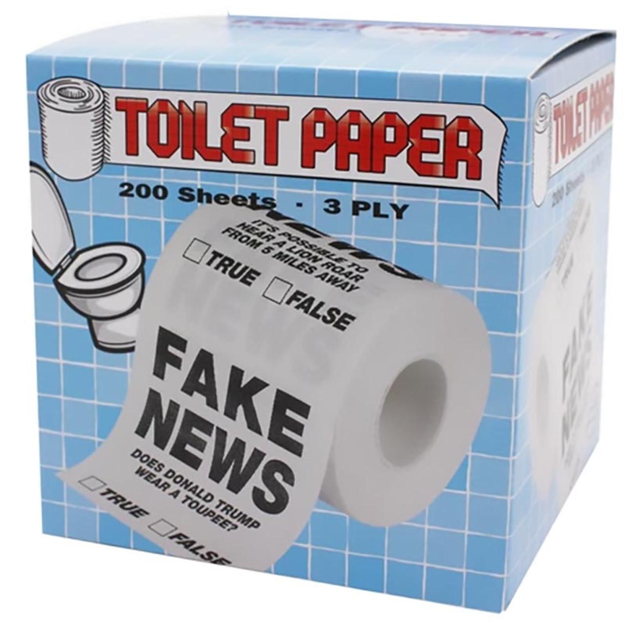 Fake News Novelty Toilet Paper