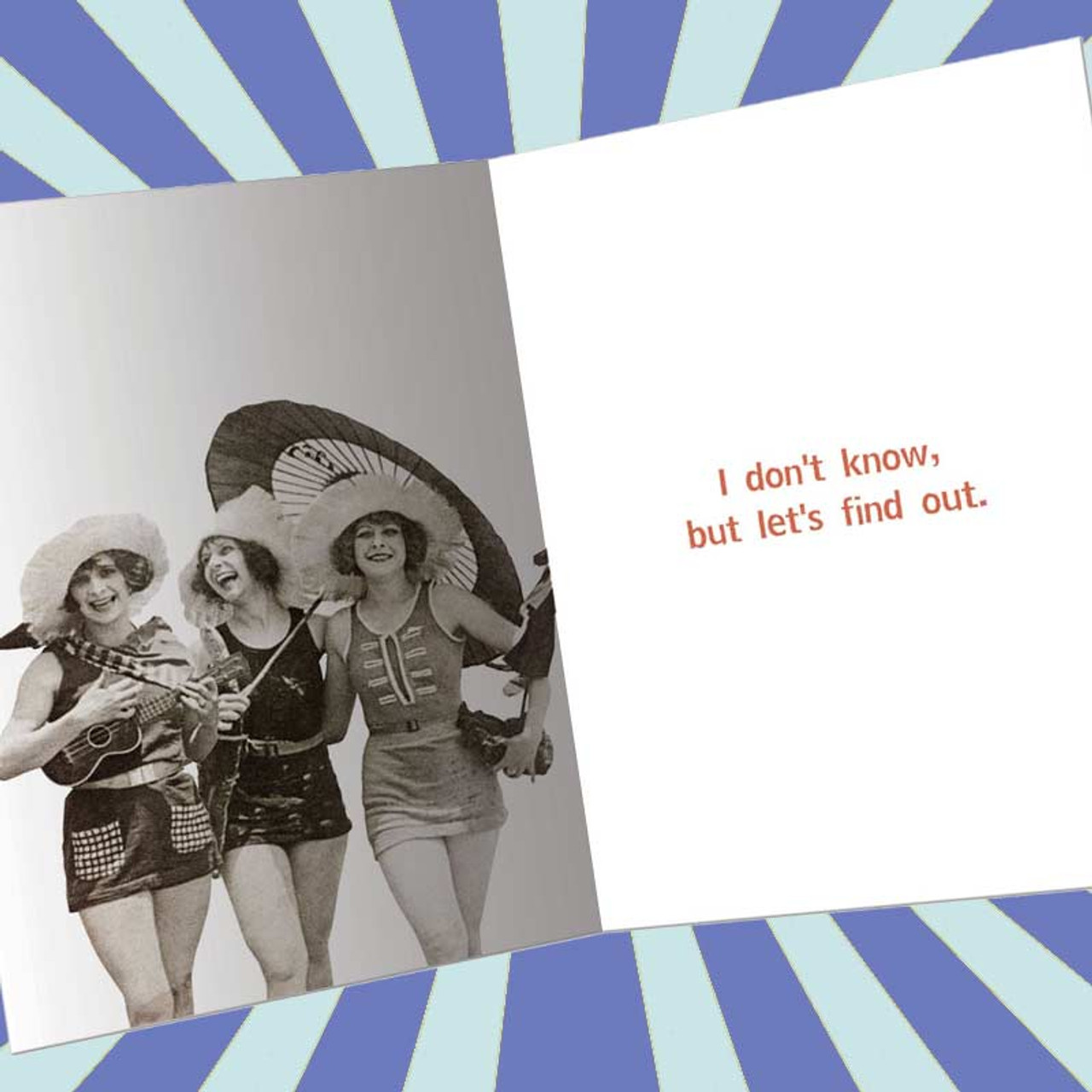 Exactly How Much Fun Can We Have Before We Go To Hell Greeting Card
