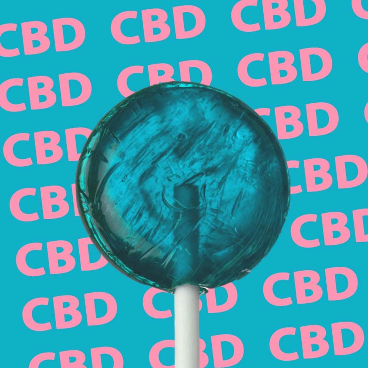 Berry CBD Lollipops