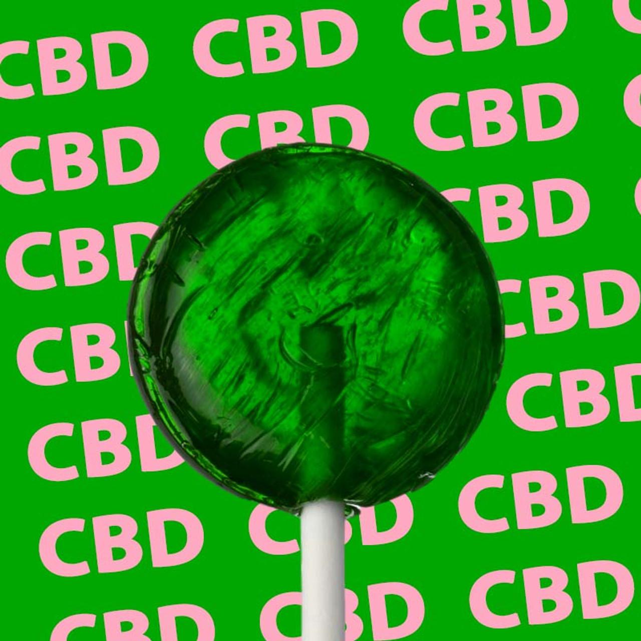 Watermelon CBD Lollipops