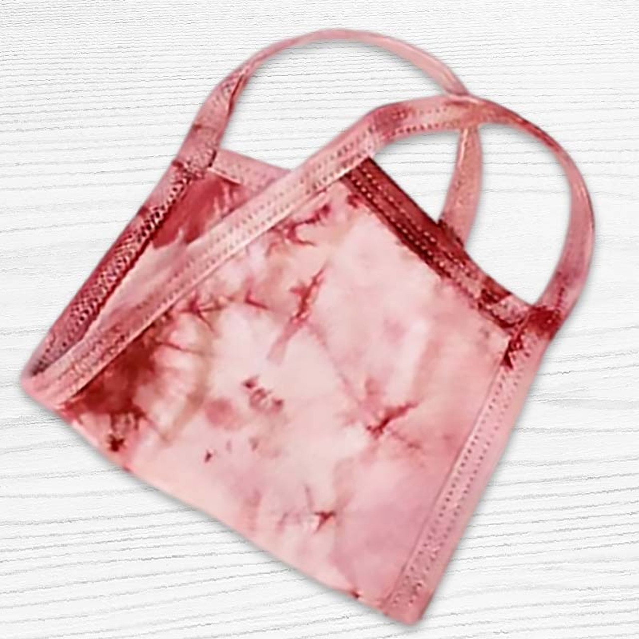 Pink Tie Dye - Soft Touch I Pink I Love You Face Mask