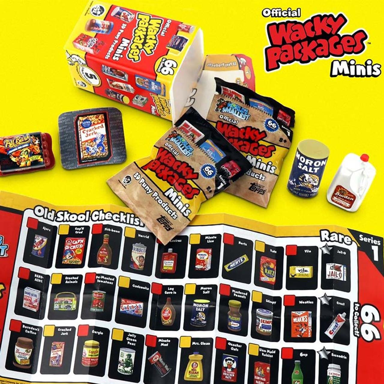 Super Impulse Wacky Packages Mini Blind Box