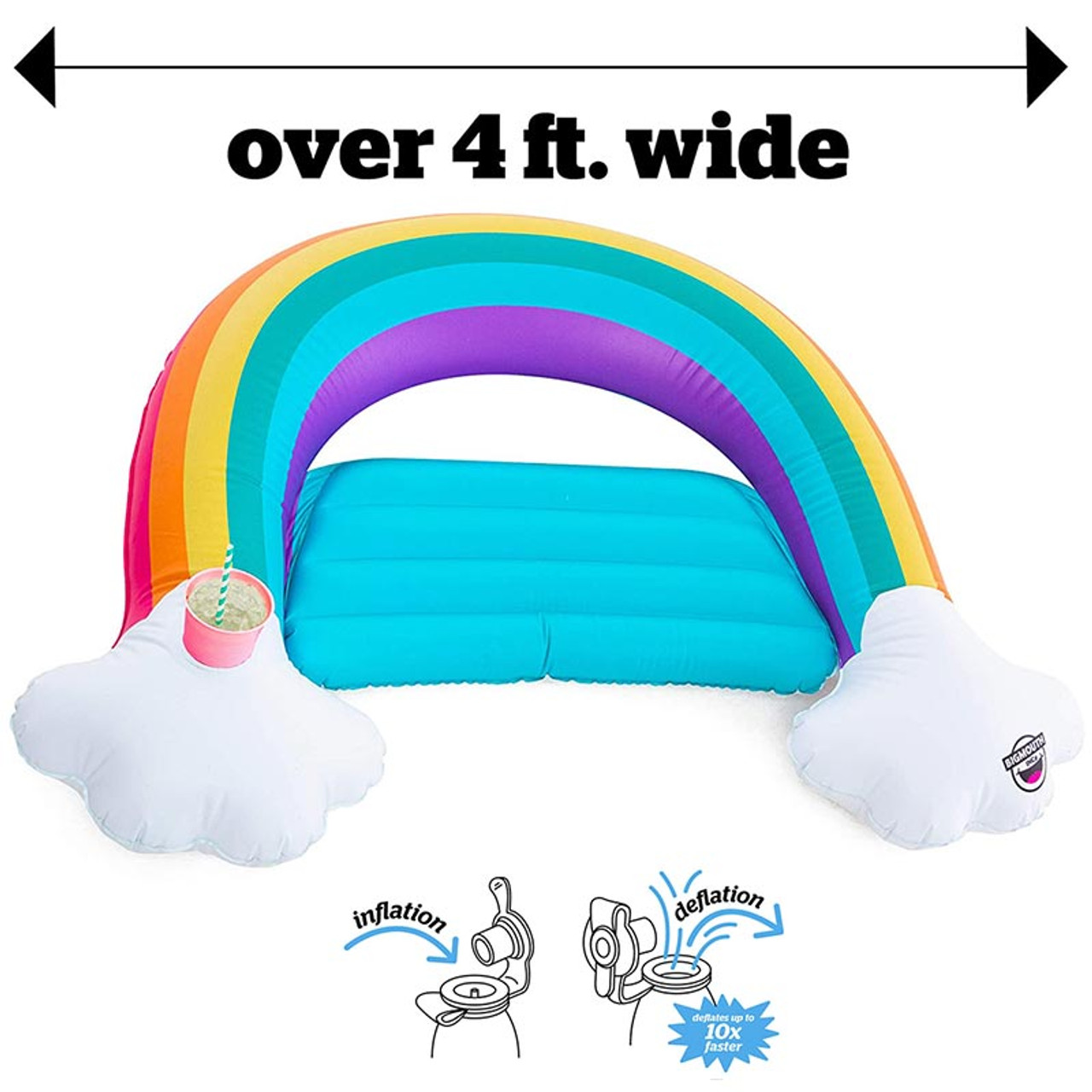 Rainbow Sling Pool Float Seat