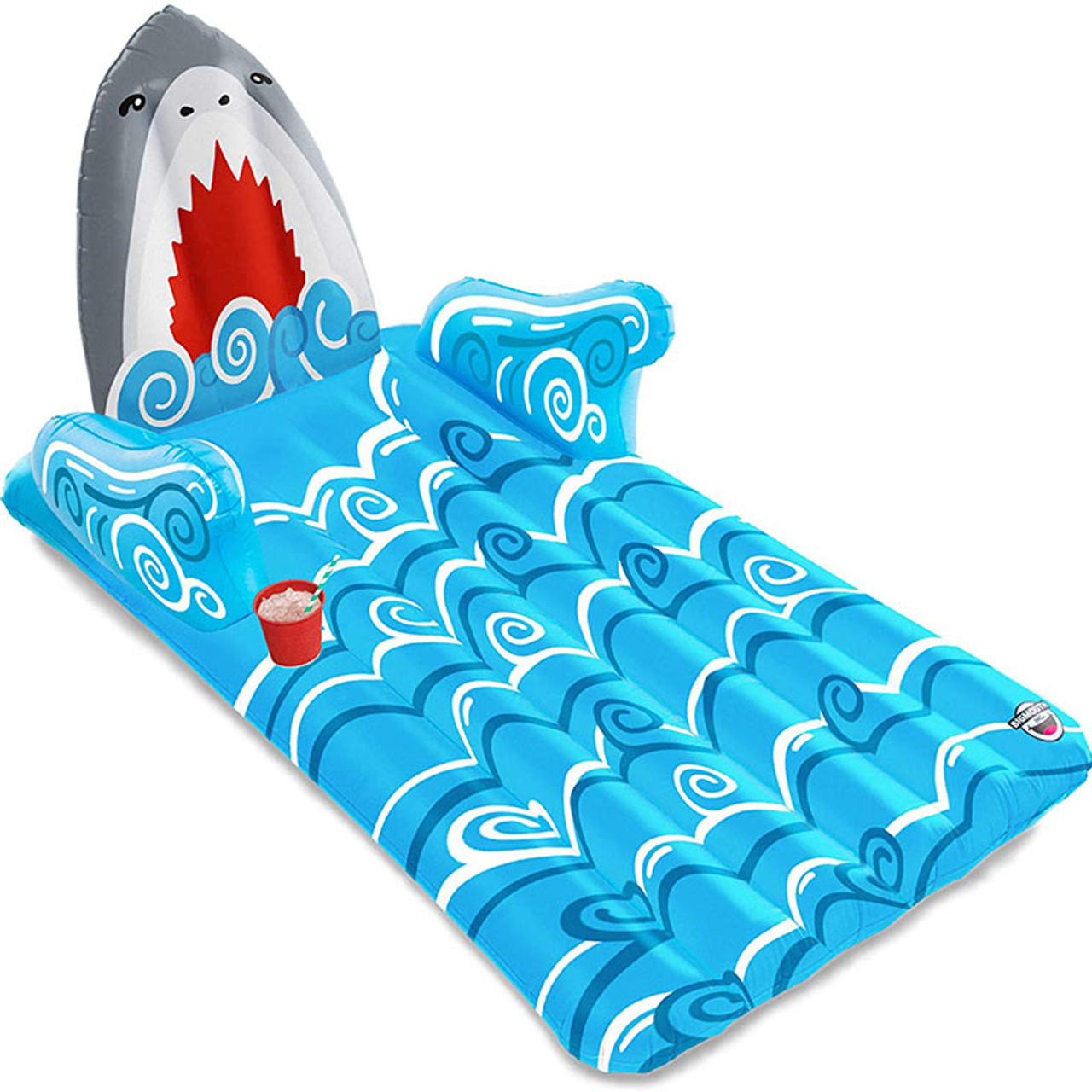 Giant Shark Lounger Pool and Ocean Float
