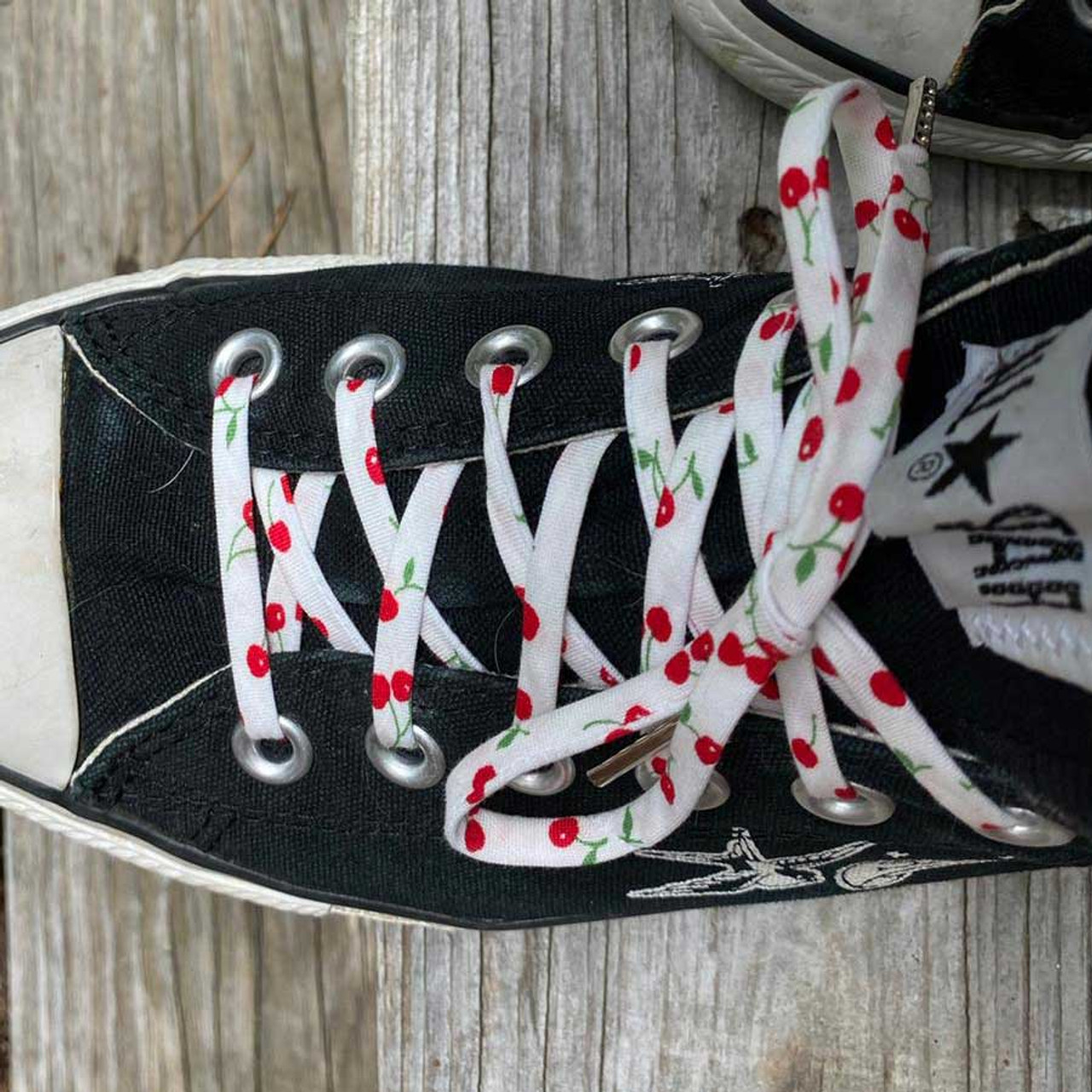 Shoelaces with Cherries