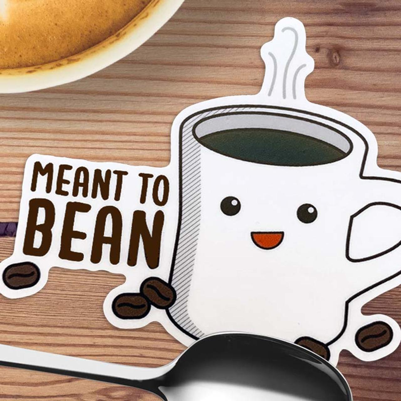 Coffee Mug Pun Sticker