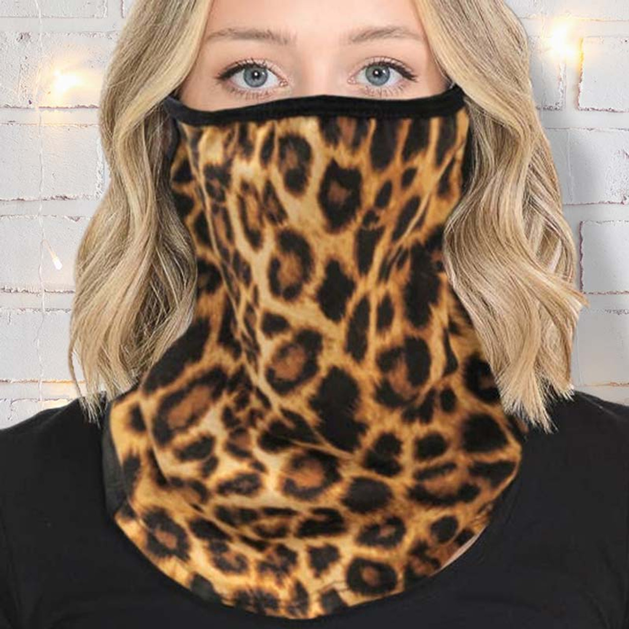 Made in the USA Leopard Print Gaiter