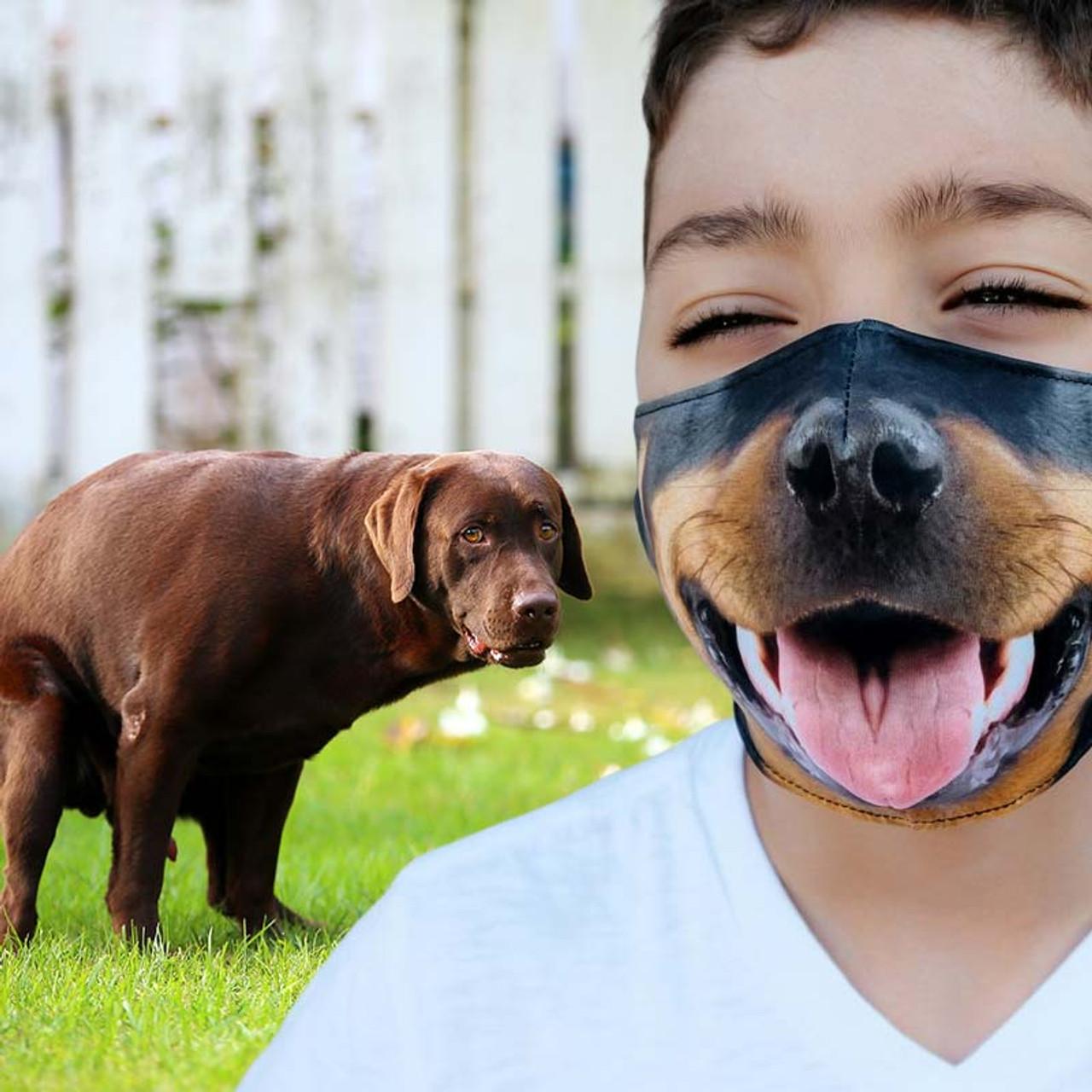 Beardo Dog Face Mask