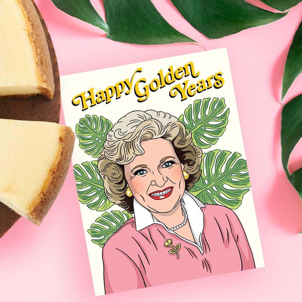 Golden Girls Retirement or Birthday Card