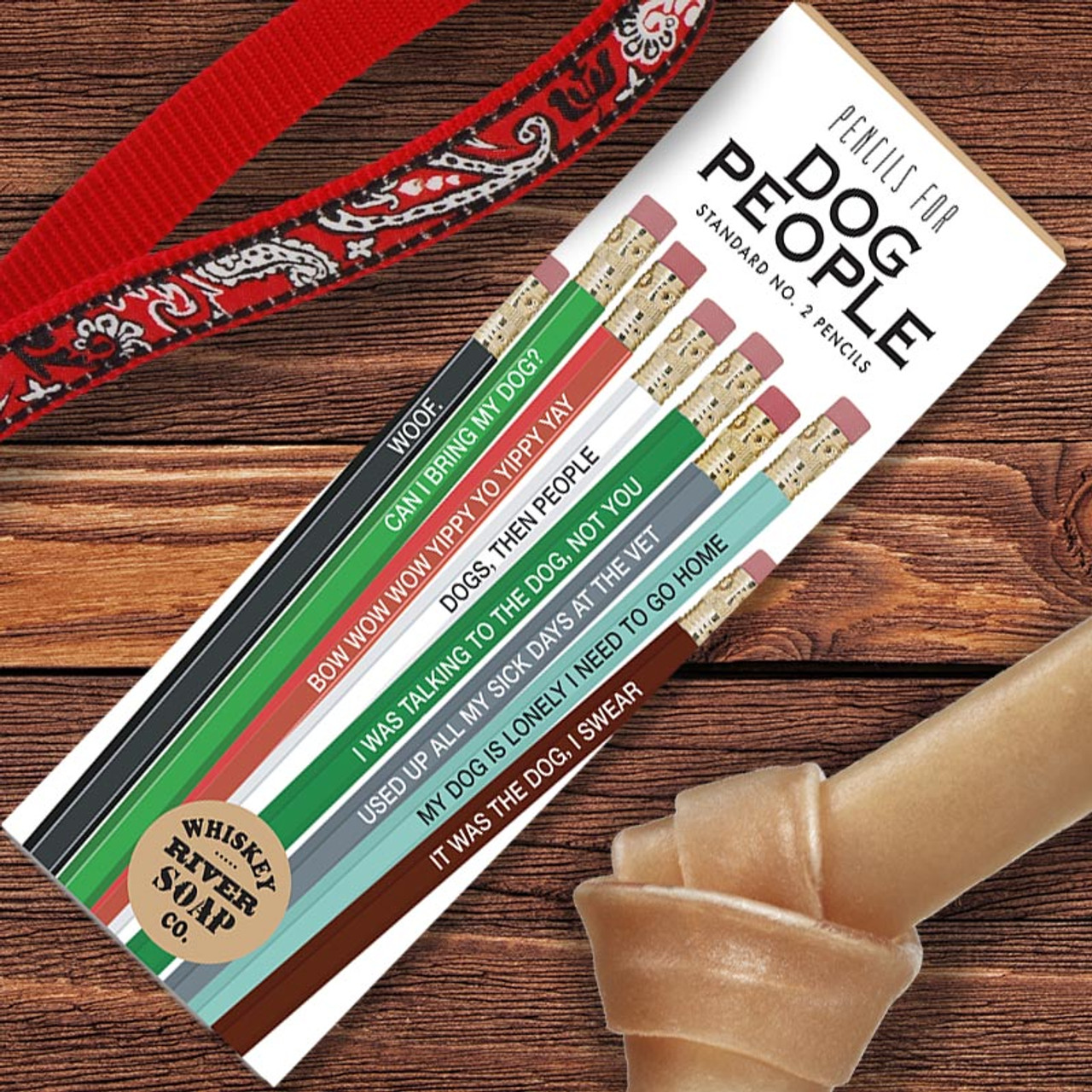 Dog Lover Gift of Pencils with Sayings
