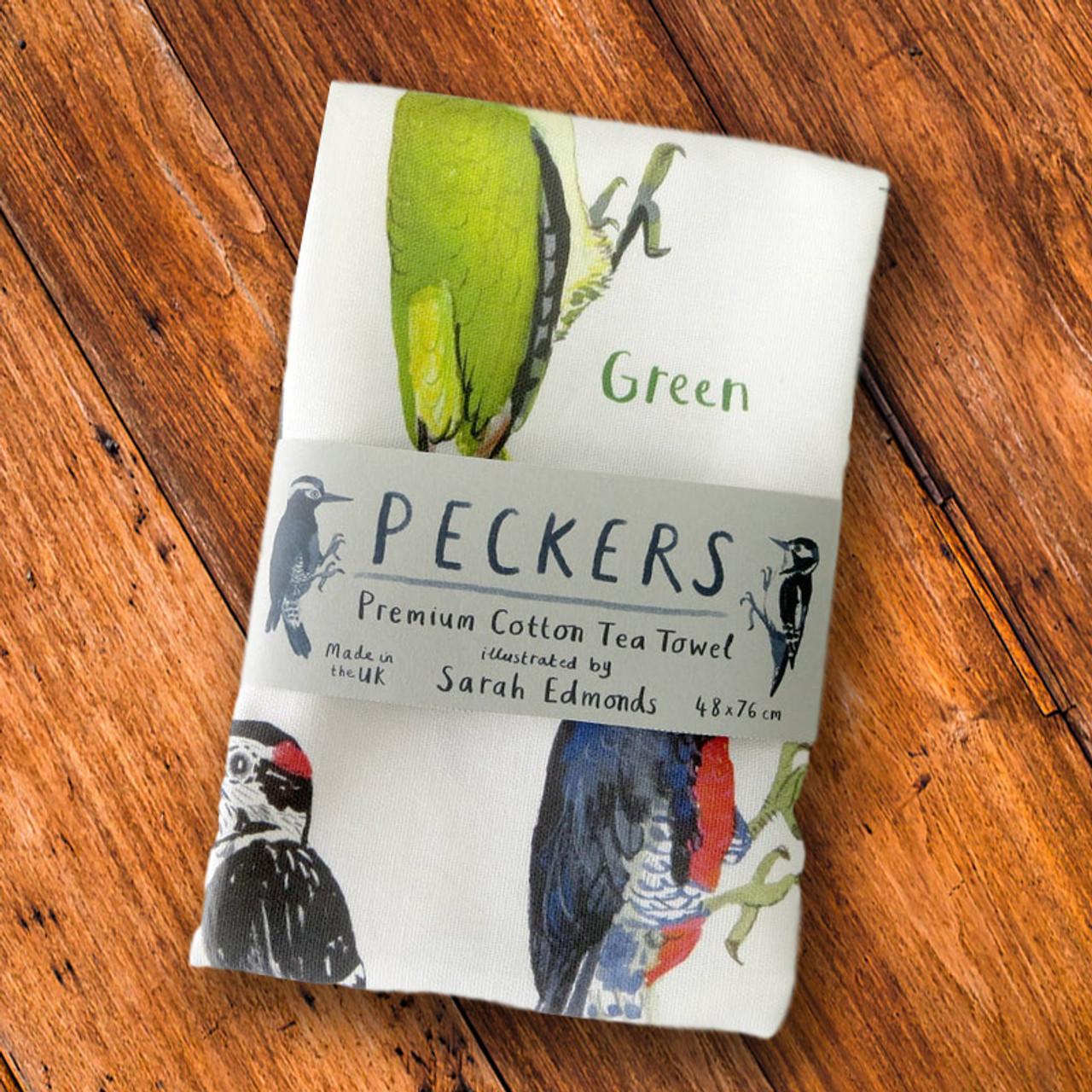Dirty Bird Names: Pecker Bird Kitchen Dish Towel